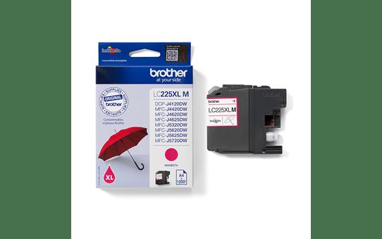 Brother LC225XLM inktpatroon magenta 3