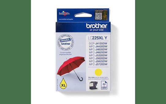 Brother LC225XLY inktpatroon geel