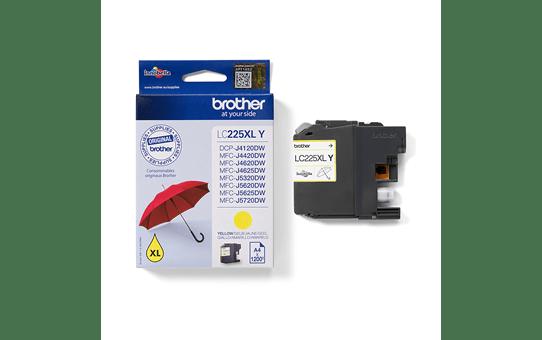 Brother LC225XLY inktpatroon geel 3