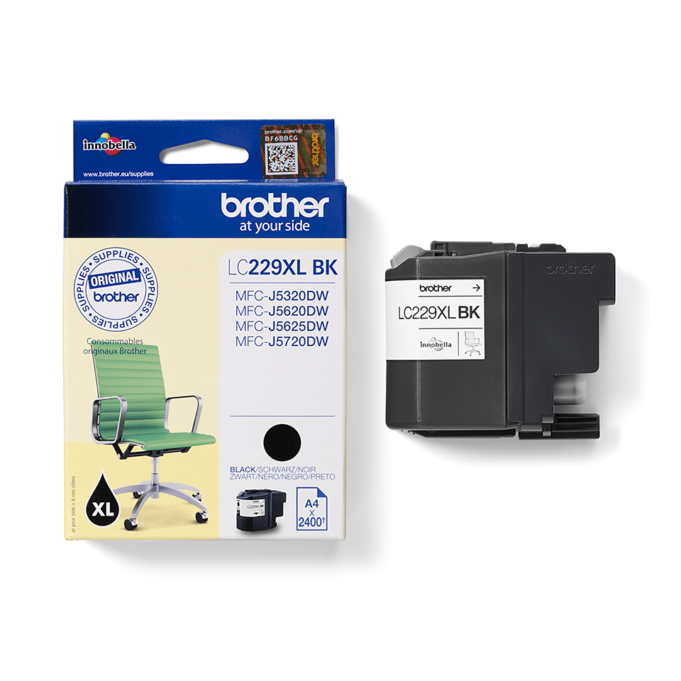 Brother LC-227XL-BK Tintenpatrone – Schwarz 2