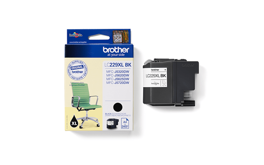 Genuine Brother LC229XLBK Ink Cartridge – Black 3