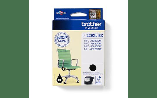 Originální inkoustová kazeta Brother LC229XLBK - černá