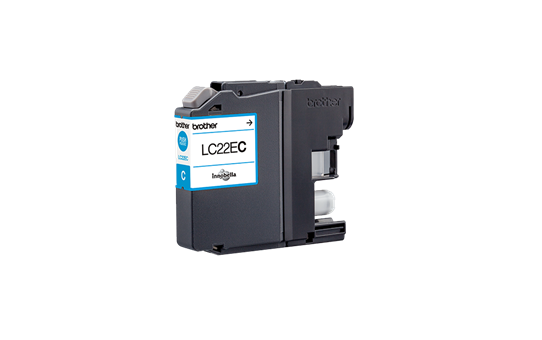 Originele Brother LC-22EC cyaan inktcartridge