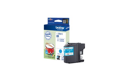 Genuine Brother LC22UC Ink Cartridge – Cyan