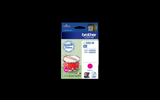 Original LC-22UM Tintenpatrone von Brother – Magenta 2