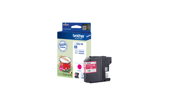 Originele Brother LC-22UM magenta inktcartridge