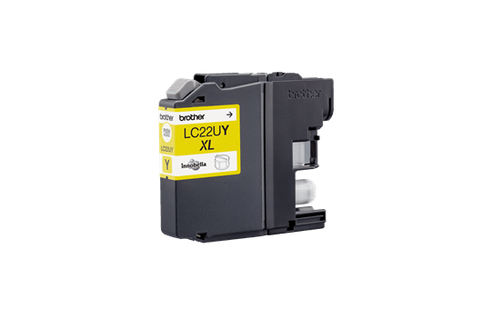 Brother LC22UY Cartuccia inkjet originale XL - giallo 3