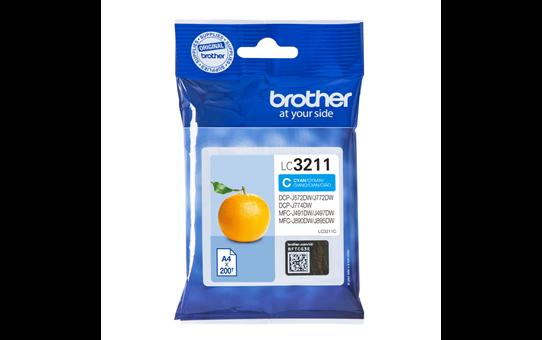 Brother original LC3211C blekkpatron - cyan