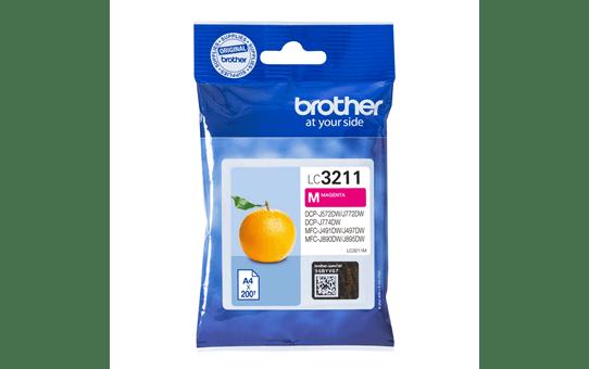 Brotherin alkuperäinen LC3211M-värikasetti - Magenta