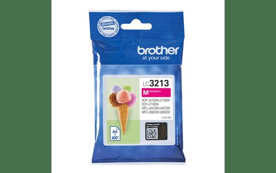 Genuine Brother LC3213M ink cartridge - magenta