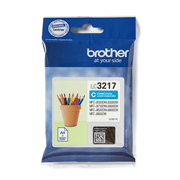 LC3217C Brother genuine ink cartridge pack front image