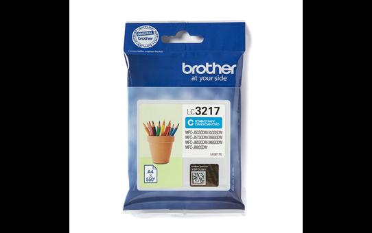 Brother LC3217C inktpatroon cyaan