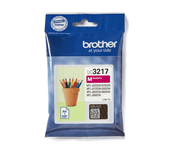 Brother LC3217M cartouche d'encre magenta