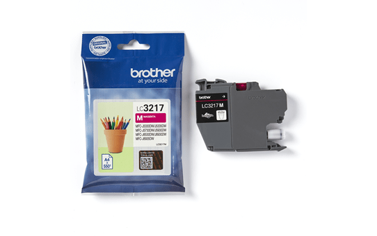 Original Brother LC3217M blekkpatron – magenta 3