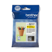 LC3217Y Brother genuine ink cartridge pack front image