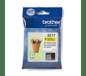 Oriģinālā Brother LC3217Y tintes kasetne - dzeltena krāsa