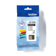LC3219XLBK Brother genuine ink cartridge pack front image