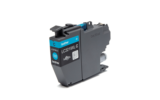 Original Brother LC3219XLC XL høykapasitet blekkpatron i cyan 2