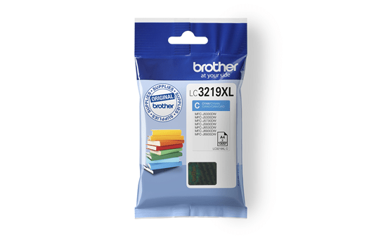Genuine Brother LC3219XLC Ink Cartridge in Cyan