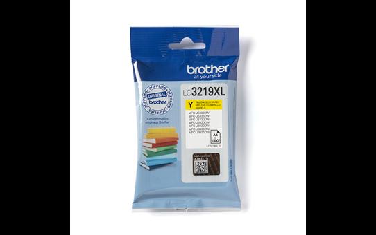Brother LC-3219XL-Y Tintenpatrone – Gelb