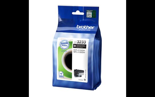 Oriģināla Brother LC3233BK tintes kasetne - melna 2