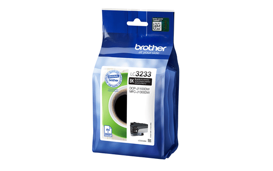 Originele Brother LC-3233BK zwarte inktcartridge
