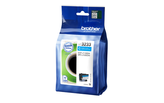 Brother LC-3233C Tintenpatrone – Cyan 2