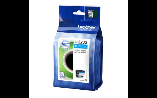 Originele Brother LC-3233C cyaan inktcartridge