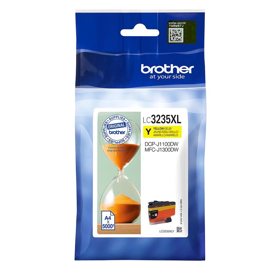Cartucho de tinta amarillo LC3235XLY, Brother