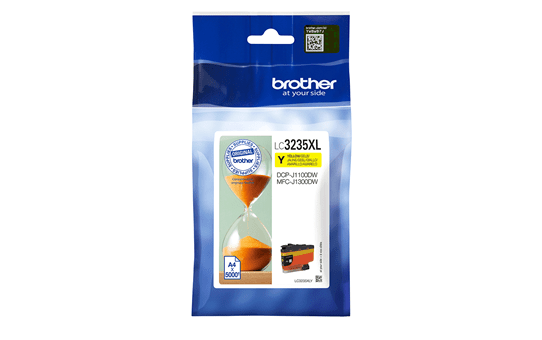Genuine Brother LC3235XLY Ink Cartridge - Yellow