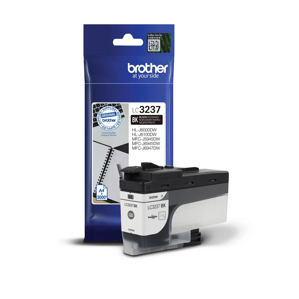 Brother LC3237BK originalbläckpatron med hög kapacitet – Svart 2