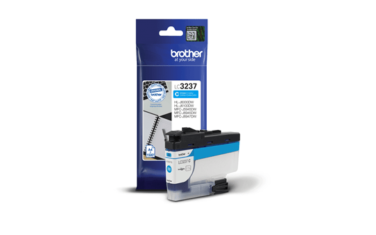 Cartouche d'encre LC3237C Brother originale – Cyan 2