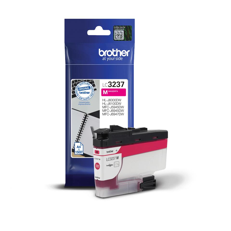 Brotherin alkuperäinen LC3237M-värikasetti – Magenta 2