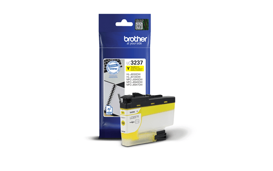 Cartouche d'encre LC3237Y Brother originale – Jaune 2