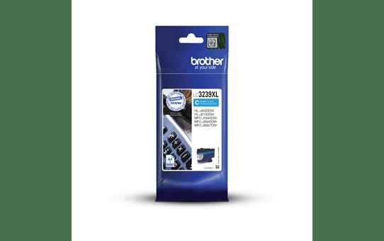Brother original LC3239XLC XL høykapasitet blekkpatron - cyan 3