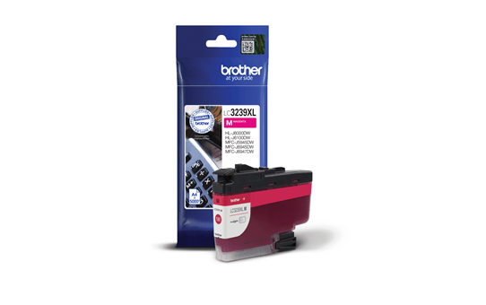 Brother original LC3239XLM XL høykapasitet blekkpatron  – magenta 2