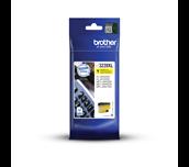 Brother LC3239XLY gul XL høykapasitet blekkpatron i forpakning