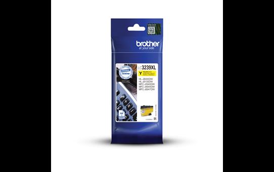 Brother original LC3239XLY XL høykapasitet blekkpatron - gul 3