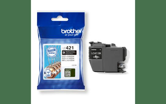 Originele Brother LC-421BK zwarte inktcartridge 3