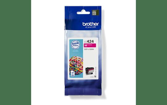 Genuine Brother LC424M Ink Cartridge – Magenta