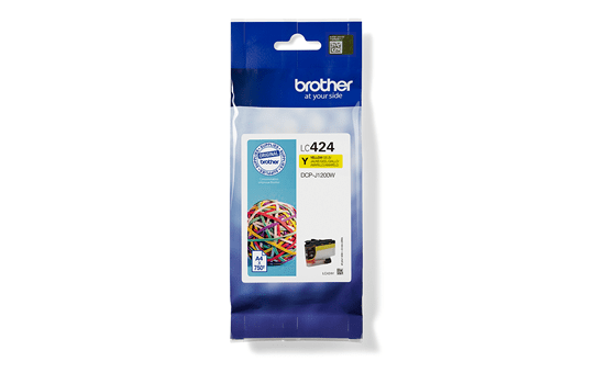 Genuine Brother LC424Y Ink Cartridge – Yellow