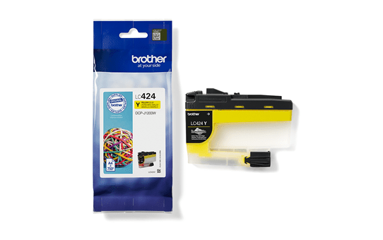 Genuine Brother LC424Y Ink Cartridge – Yellow 3