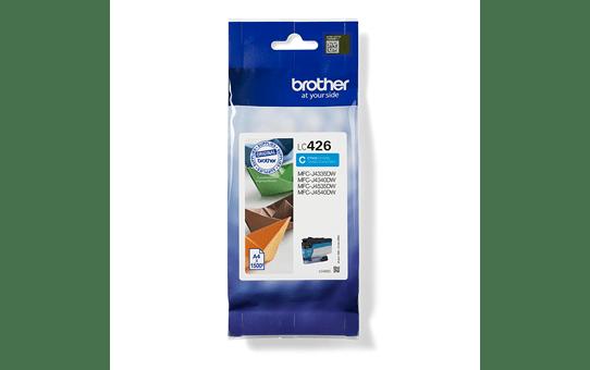 """Originali """"Brother LC426C"""" rašalo kasetė – žalsvai mėlyna"""
