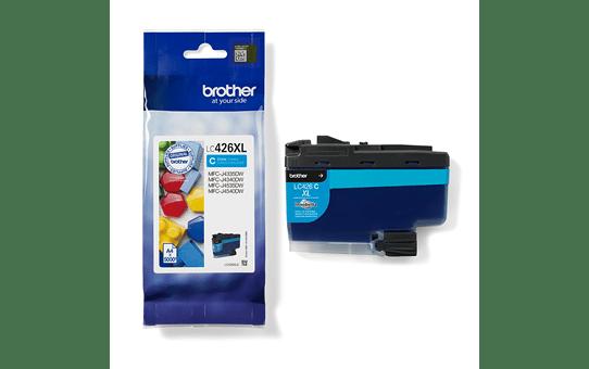 Genuine Brother LC426XLC Ink Cartridge – Cyan 3