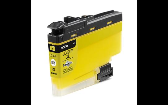 Original Brother LC426XLY XL høykapasitet blekkpatron – gul 2