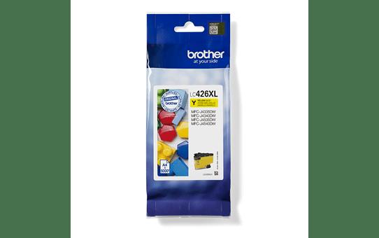 Originele Brother LC-426XLY gele inktcartridge met hoge capaciteit