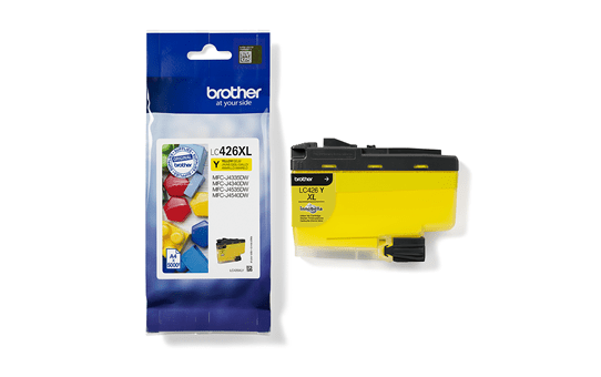 Genuine Brother LC426XLY Ink Cartridge – Yellow 3