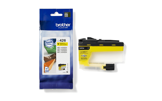 Genuine Brother LC426Y Ink Cartridge – Yellow 3