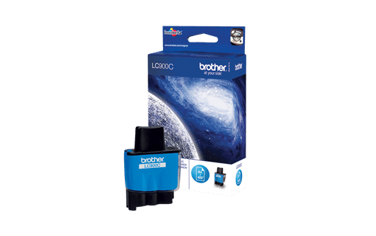 Brother LC900C cartouche d'encre cyan 2