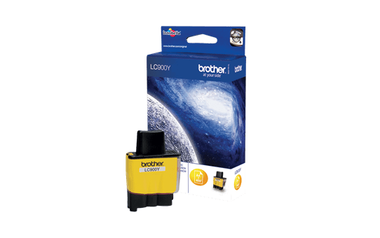 Genuine Brother LC900Y Ink Cartridge – Yellow 2